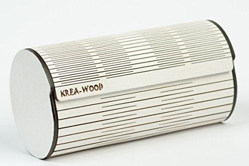 Magneti Bianco wood Betulla Fatto A Marca Krea Naturale Con In Astuccio 4 Mano Colore Legno Di ZRw0aaqP