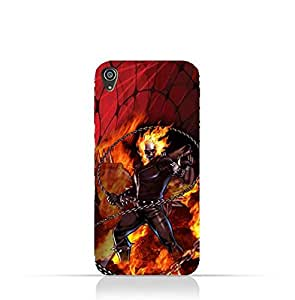 Sony Xperia XA TPU Protective Silicone Case with Ghost Rider Design