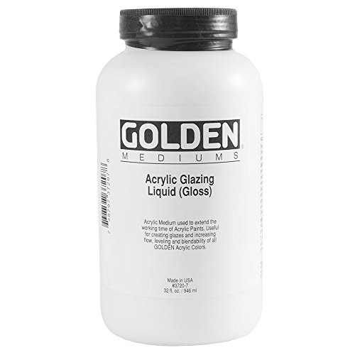 Golden Artist Colors Glazing Liquid Gloss, glazing liquid (gloss), 32 oz