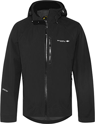 Mountain Designs Men's Cumulus GORE-TEX Jacket, Jet Black, X-Large