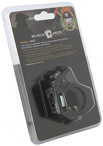 Blackjack ACE Firefighter Helmet Aluminum Flashlight Holder by Blackjack Fire & Safety (Image #8)