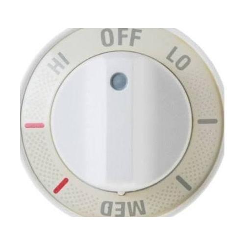 (GENERAL ELECTRIC Range Control Knob - White (WB3K5243))