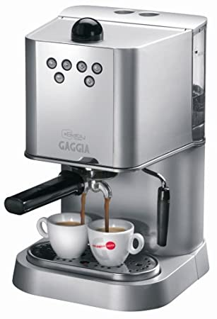 Gaggia Baby Dose 74825 Coffee Maker Silver: Amazon.co.uk: Kitchen & Home