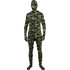 - 41I3TJFZ 2BDL - Forum Novelties Boy's Camo Skinsuit Spandex Bodysuit Zentai Fancy Dress Halloween Costume