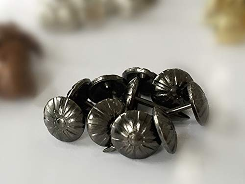 Dalab (500PCS/PACK) 11MM17MM Generic Gun Black Nails Upholstery Decorative Hardware Tacks Button by DalaB