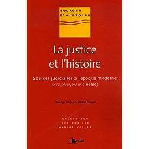 Justice et l'histoire