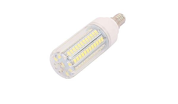 eDealMax AC110V 9W x 96 5736SMD E14 del maíz del LED bombilla de la lámpara ahorro de energía blanca pura - - Amazon.com