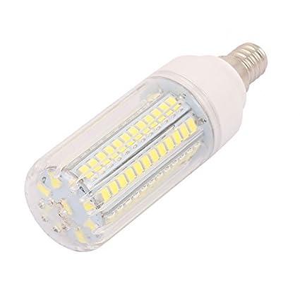 eDealMax AC110V 9W x 96 5736SMD E14 del maíz del LED bombilla de la lámpara ahorro