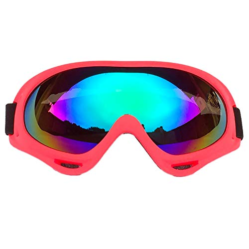 Balight Cycling Goggles Women Men UV 400 Protection Windproof Dust-Proof ATV Motocross Glasses Skate Motorcycle Bicycle Riding Goggles for Kids Boys Girls Youth