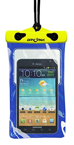 DRY PAK Dry Bag Case for Cell Phones, iPhone, Androids, 5
