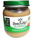 Beech-Nut Classics, Chiquita Banana & Strawberry, 4 Ounce (Pack of 10)