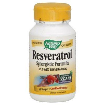 Resveratrol Nature039s Way 60 VCaps Discount
