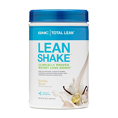 Gnc Total Lean Shake, Vanilla Bean, 1.7 Pounds