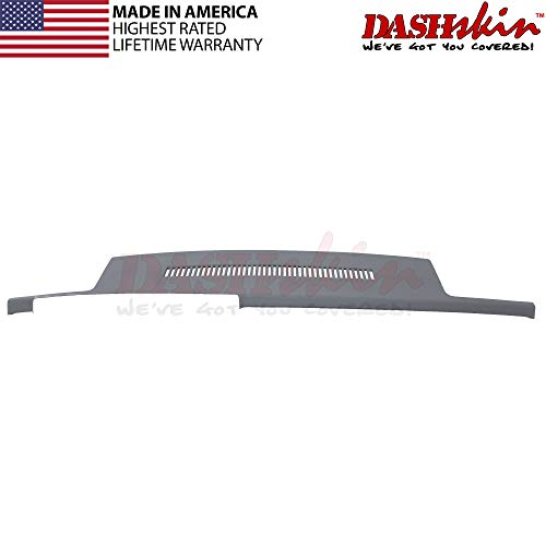DashSkin Molded Dash Cover Compatible with 88-94 GM Trucks in Dark Grey (USA Made) ()