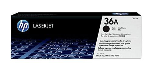 HP 36A (CB436A) Schwarz Original Toner für HP Laserjet M1120, HP Laserjet M1522