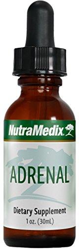 NutraMedix Adrenal Support - Adaptogenic Herbal Drops with Rhodiola, Ginseng, Astragalus + Schisandra (1 oz / 30 ml)