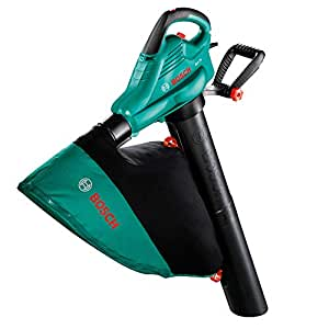 Bosch Leaf Blower and Vacuum ALS 25 (2300 Watt, Padded Shoulder Strap Included, in Box)