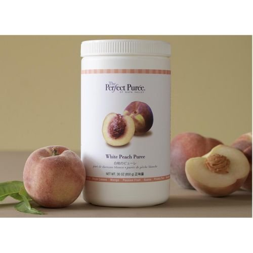 The Perfect Puree White Peach Puree, 30 Ounce - 6 per case. by Perfect Puree