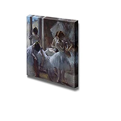 Dancers at Rest by Edgar Degas - Canvas Print Wall Art Famous Painting Reproduction - 12