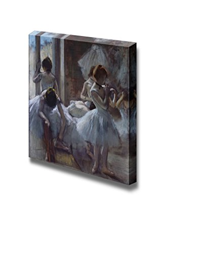 wall26 - Dancers at Rest by Edgar Degas - Canvas Print Wall Art Famous Painting Reproduction - 24
