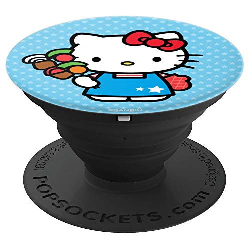 Hello Kitty BBQ Chef Kabob Apron Oven Mitt - PopSockets Grip and Stand for Phones and Tablets