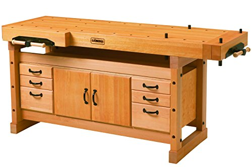 Sjöbergs Professional Elite 2000 European Beech Workbench & SM04 Storage