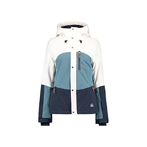 Oneill Snowboard Jackets (O Neill Coral Womens Snowboard Jacket Medium Ink Blue)