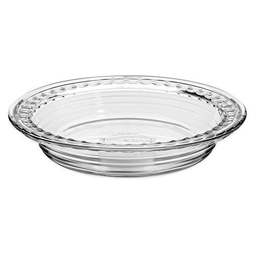 9.5 Inch Deep Pie Plate with Wide Fluted Edge (Edge Pie Dish)