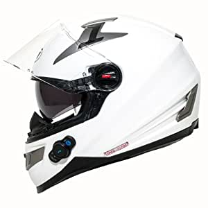 Amazon.com: BILT Techno Bluetooth Full-Face Motorcycle