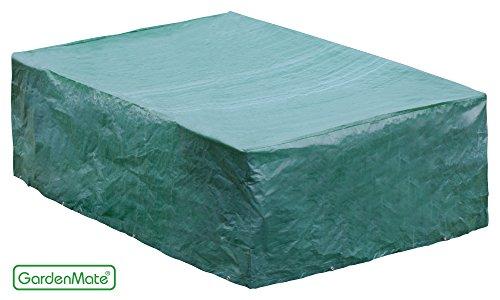 GardenMate® 200x160x70cm Schutzhülle Gartenmöbel - Premiumqualität 120gsm PE Gewebe