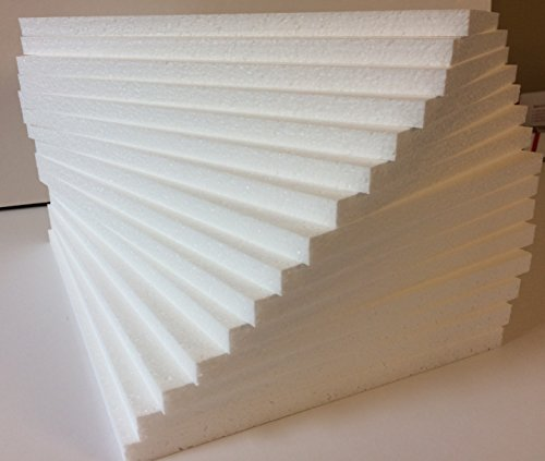 styrofoam-sheets-8-1-2-x-11-x-1-2-white-lot-of-10