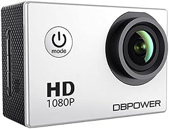 DBPOWER 12MP 1080P HD Waterproof Action Camera