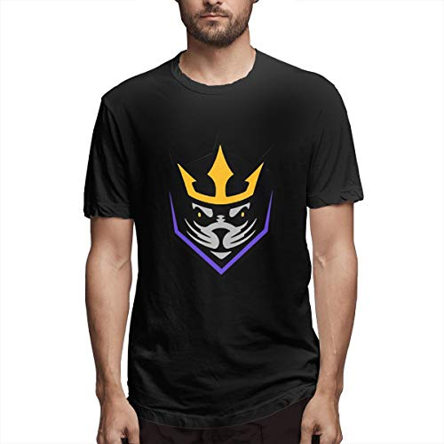 Eilli Retro San Diego Seals Lacrosse Vintage T Shirt TeeM Black ()
