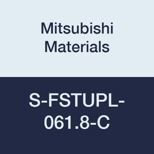 0.375 Shank Diameter Steel Shank Left Mitsubishi Materials S-FSTUPL-061.8-C Screw Clamp Dimple Boring Bar with 0.219 IC Triangular 60/° Insert 93/° Cutting Angle