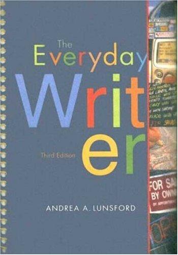 Everyday Writer 3e spiral & Everyday Writer Exercises CD-Rom