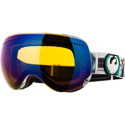 Dragon APX Goggle Photo/Blue Steel, One Size, Outdoor Stuffs