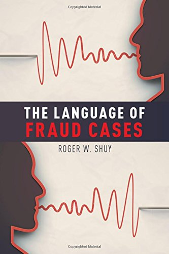 The Language of Fraud Cases by Oxford University Press