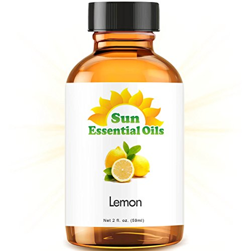 Lemon (2 fl oz) Best Essential Oil - 2 ounces (59ml)