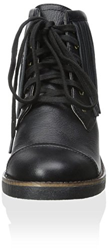 up Women's Harlow House Ankle Fringes 1960 Boot with of Lace Cutler Black tCqCBY1wx