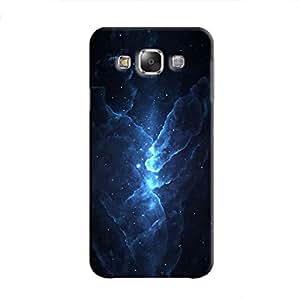 Cover It Up - Blue Stars Galaxy E7 Hard Case