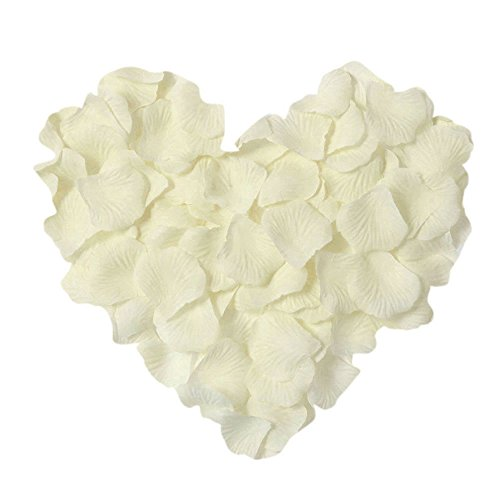 Neo LOONS 1000 Pcs Artificial Silk Rose Petals Decoration Wedding Party Color
