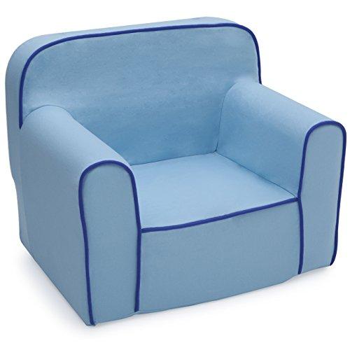 Delta Children Foam Snuggle Chair, Blue ()
