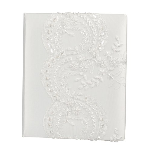 Ivy Lane Design Victorian Collection Memory Book, White