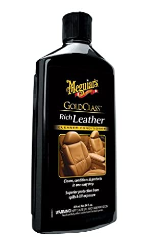 Meguiar's G7214 Gold Class Leather Cleaner and Conditioner (Car Conditioning Cleaner)