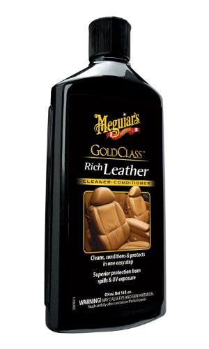 Meguiar's G7214 Gold Class Leather Cleaner and Conditioner