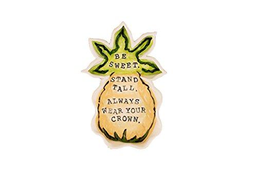 - Glory Haus 28100103 Be Sweet Pineapple Dish, Multicolor