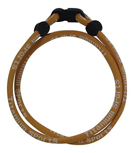 Buy titanium sports necklace saints