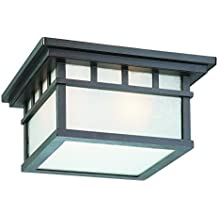 Dolan Designs 9119-34 Barton 2 Light Ceiling Light, Olde World Iron