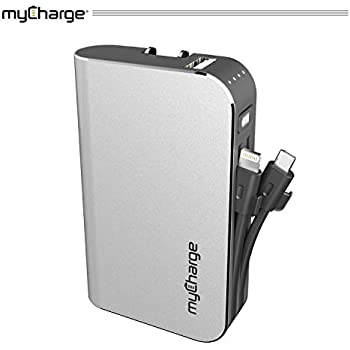 MyCharge AMPMAX 6000mAh Portable Power Bank Charger smart phone tablet mp3