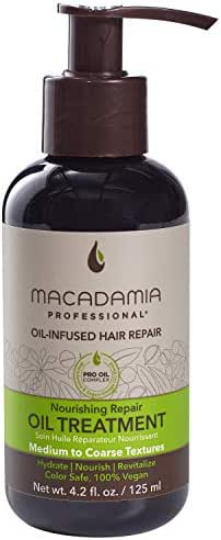 Macadamia Professional Hair Care Sulfate & Paraben Free Natural Organic Cruelty-Free Vegan Hair Products Nourishing Hair Repair Oil Treatment, 4.2oz